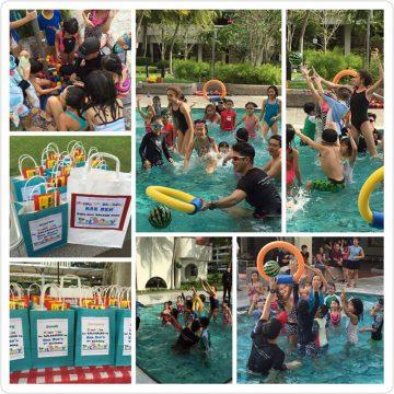 Kae Ren's birthday pool party